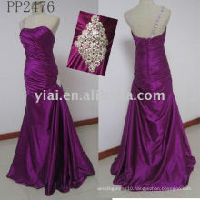 PP2476 new arrival free shipping lace evening gown 2011